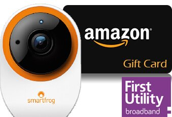First Utility free camera or voucher