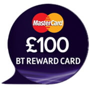 £100 BT Reward Voucher