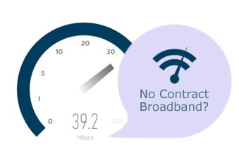 Broadband plans with no contract
