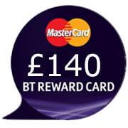 BT Broadband free £140 reward