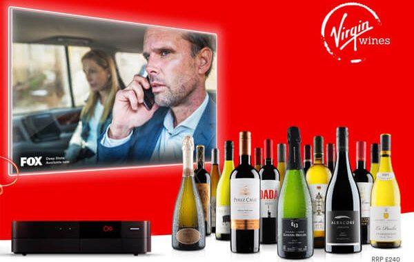 Virgin Media flash sale credit and wine