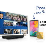 Sky TV with a free Tablet