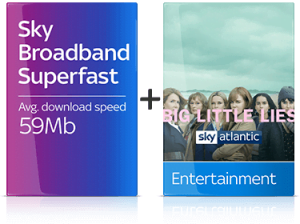 Sky TV and Broadband deal