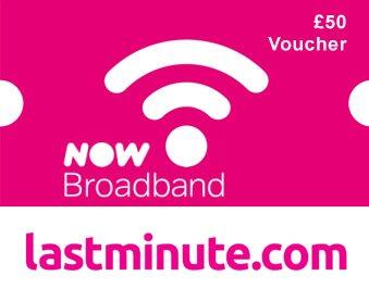 NOW Broadband free voucher