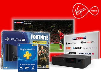 Virgin free PlayStation 4 offer