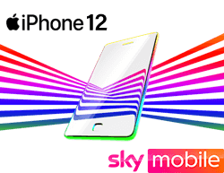 iPhone 12 deals Sky Mobile