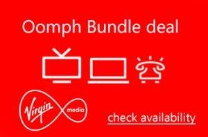 Oomph bundle deal from Virgin Media