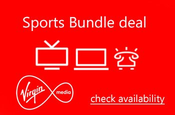 Virgin Media - Sports Bundle deals